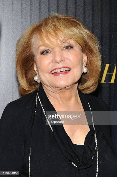 Barbara Walters attends The Hollywood Reporter's 2016 35 Most Powerful People in Media at Four Seasons Restaurant on April 6, 2016 in New York City.