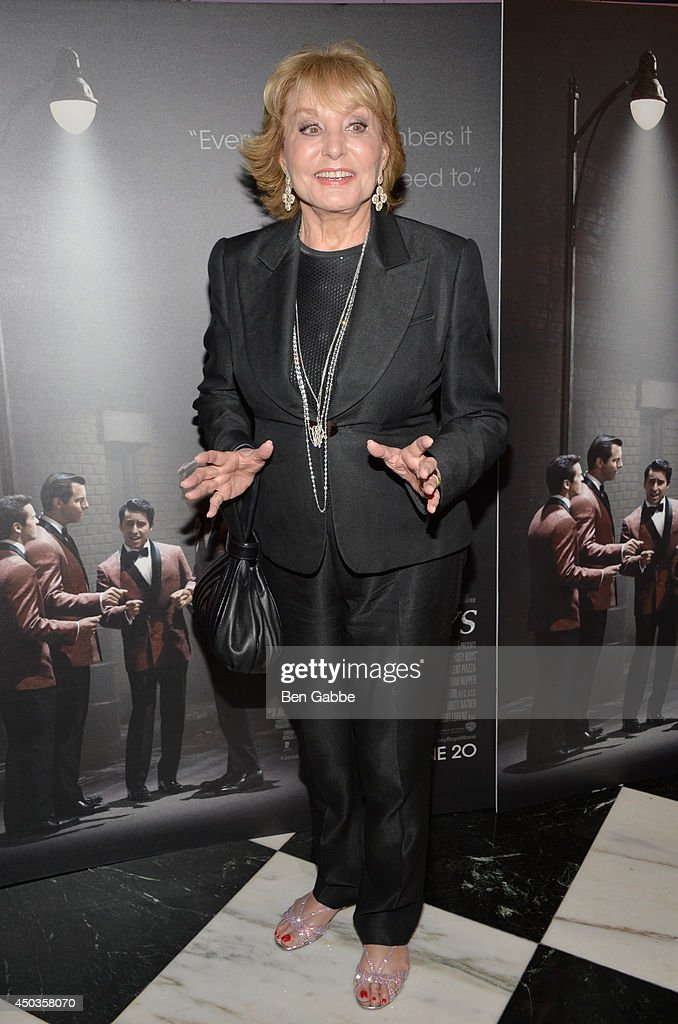 Barbara Walters attends the 'Jersey Boys' Special Screening at Paris Theater on June 9, 2014 in New York City.