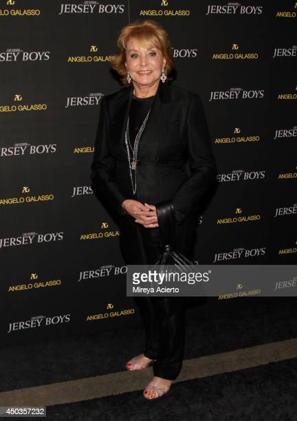"""Barbara Walters attends the """"Jersey Boys"""" Special Screening dinner at Angelo Galasso House on June 9, 2014 in New York City."""