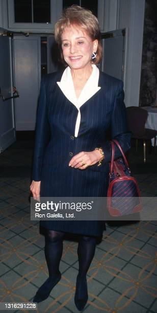 Barbara Walters attends the Matrix Awards at the Waldorf Astoria Hotel in New York City on April 1998.