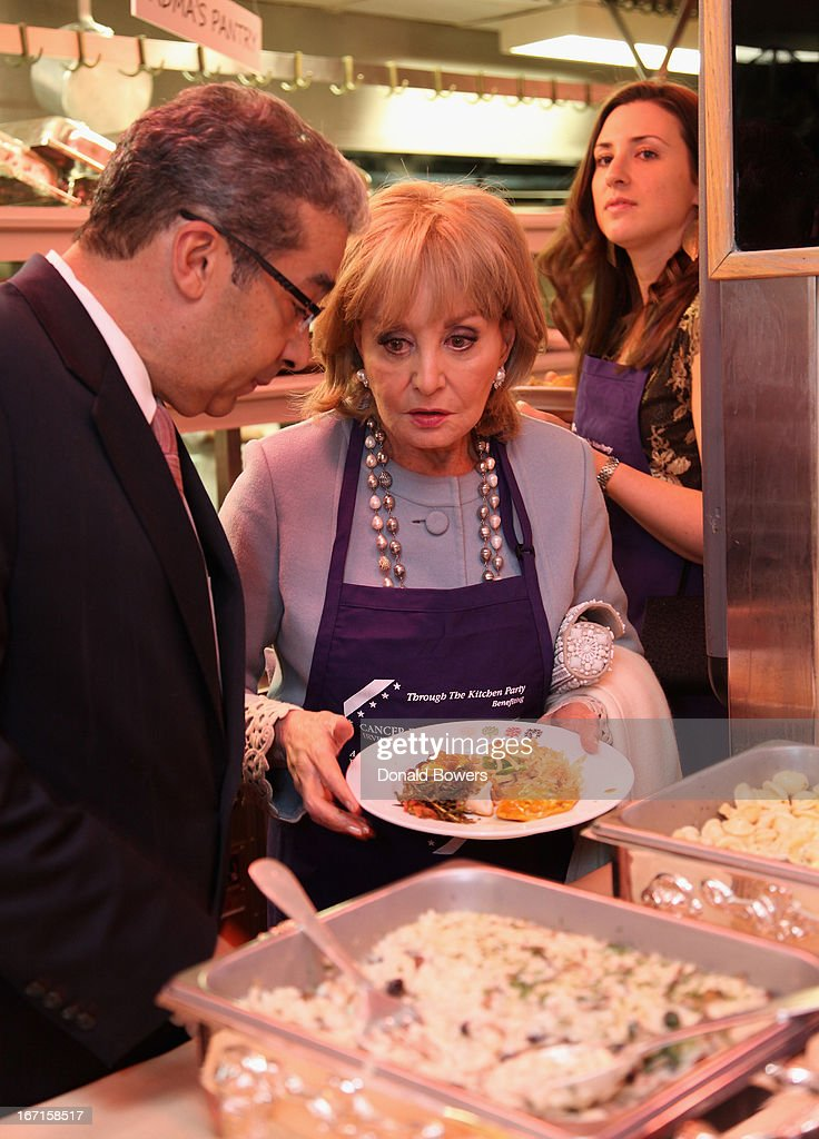 Barbara Walters attends The Through The Kitchen Party Benefit For Cancer Research Institute on April 21, 2013 in New York City.