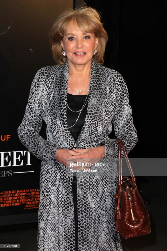 Barbara Walters attends TWENTIETH FOX and KNIGHT CAPITAL GROUP Present the Premeire of