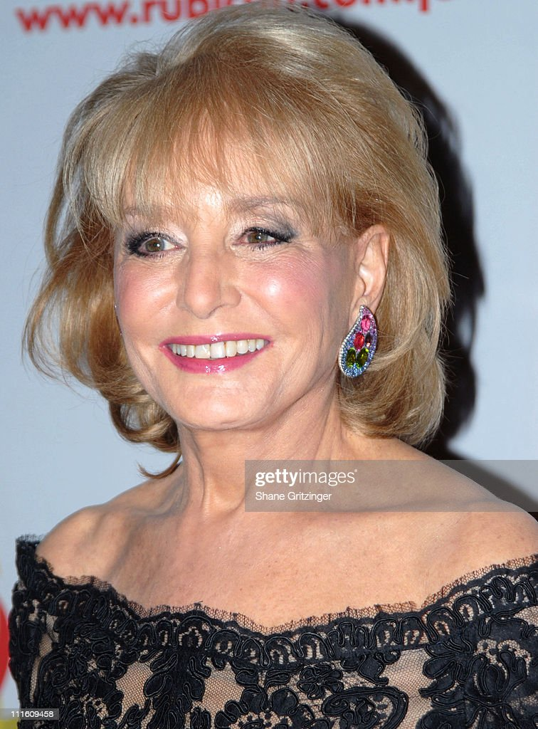 Barbara Walters during Rubicon's 'Ben and Izzy' Gala with Special Host Her Majesty Queen Rania Al-Abdullah of Jordan at The Metropolitan Museum Of Modern Art in New York City, New York, United States.