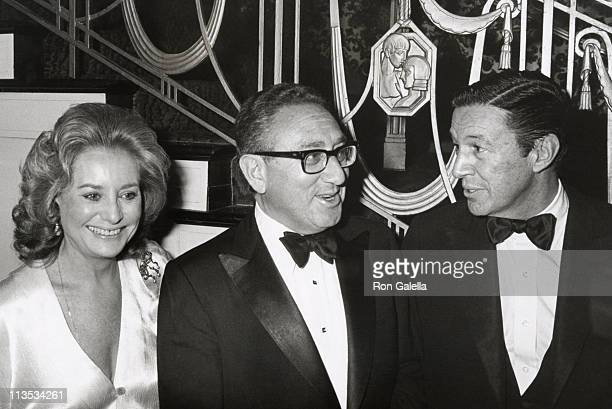 Barbara Walters Henry Kissinger and Mike Wallace