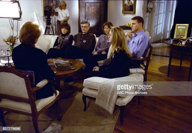 Barbara Walters interviews Fred Goldman and his daughter Kim a week after a jury found OJ Simpson liable for the 1994 slayings of his exwife Nicole...