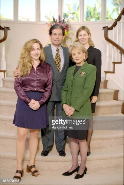Barbara Walters interviews Robert Kardashian a member of OJ Simpson's murder trial defense team and close friend of Simpson on Walt Disney Television...