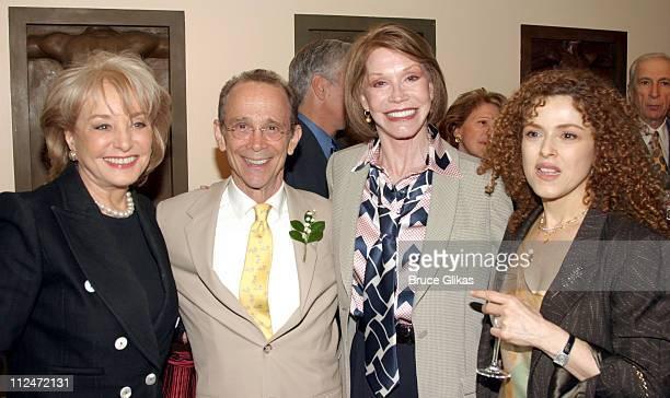 Barbara Walters Joel Grey Mary Tyler Moore and Bernadette Peters