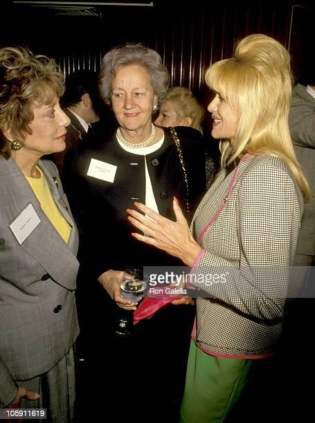 Barbara Walters Katharine Graham and Ivana Trump