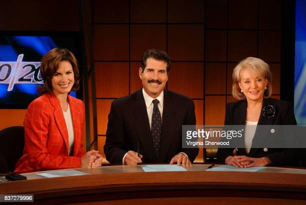 Barbara Walters' last broadcast as anchor of '20/20' which she has been on for 25 years aired Sept 24 2004 on the ABC Television Network Pictured...