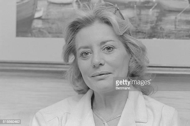 Barbara Walters, newscaster of ABC News.