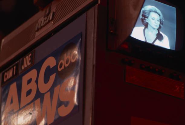 NY: 4th October 1976 - Barbara Walters Debuts As First Woman News Anchor