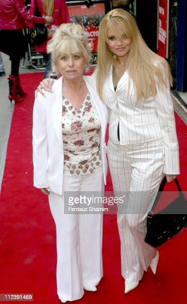 Barbara Windsor and Daniella Westbrook during 'The Football Factory' London Premiere Arrivals at Odeon Covent Garden in London Great Britain
