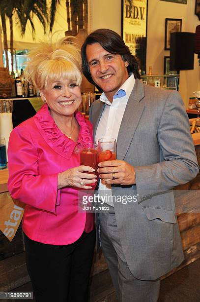 Barbara Windsor and husband Scott Mitchell attend the launch ofThe Start Sustainable Popup Restaurant on 26 July2011 at Lancaster House in London...
