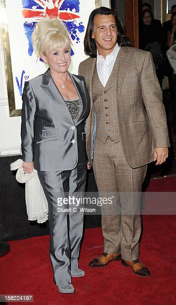 Barbara Windsor and Scott Mitchell attend the press night of 'Viva Forever' a musical based on the music of The Spice Girls at Piccadilly Theatre on...