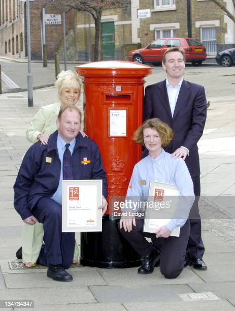 Barbara Windsor and Tracey Smith and Karen Cowling and Adam Crozier
