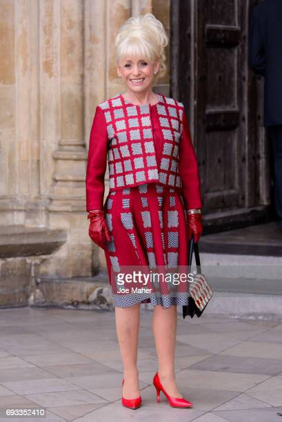 Barbara Windsor attends a memorial service for comedian Ronnie Corbett at Westminster Abbey on June 7 2017 in London England Corbett died in March...