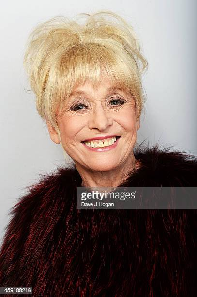 Barbara Windsor attends the Amy Winehouse Foundation ball at The Landmark Hotel on November 18 2014 in London England
