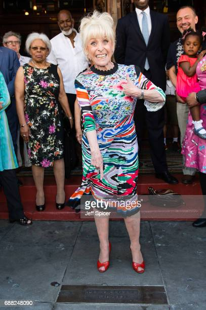 Barbara Windsor attends the inauguration of the Hackney Empire Walk Of Fame on May 25 2017 in London England The EastEnders and Carry On films...