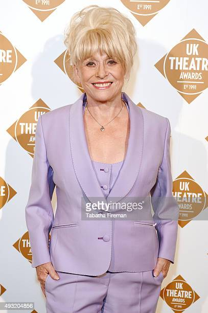 Barbara Windsor attends the UK Theatre Awards 2015 at The Guildhall on October 18 2015 in London England