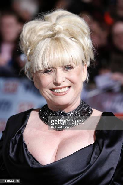 Barbara Windsor during 12th Anniversary National Television Awards Arrivals at Royal Albert Hall in London Great Britain
