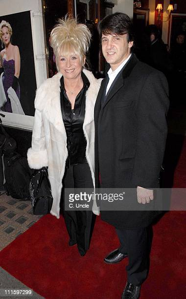 Barbara Windsor during Guys And Dolls VIP performance Red Carpet Arrivals at Piccadilly Theatre in London Great Britain
