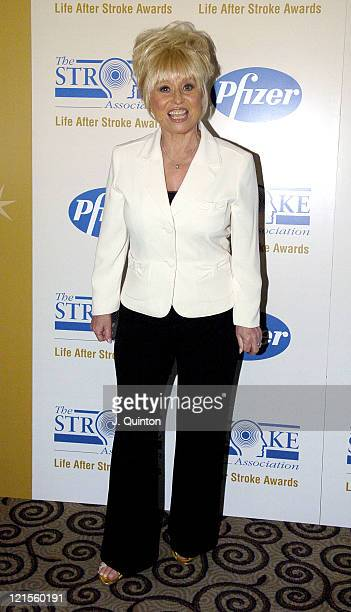 Barbara Windsor during Life After Stroke Awards 2005 at Park Lane Hilton in London Great Britain