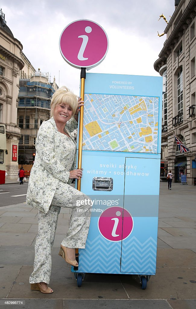 Barbara Windsor Joins Team London Ambassadors To Welcome Visitors From Around The World
