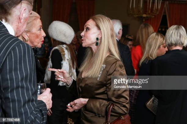 Barbara Winston during the Susan Gutfreund Hosts UN Women For Peace Association Reception on February 12 2018 in New York City