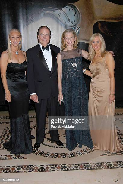 Barbara Winston Paul Hale Robin Bell And Angela Susan Anton Attend Americans For The Arts National