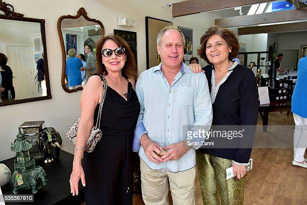 Barbara Witt Phil Witt and Michelle Ateyeh attend Animal Rescue Fund of the Hamptons 6th Annual Thrift Shop Designer Showhouse at ARF Thrift Treasure...
