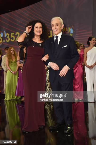Barbara Wussow and Jose Carreras during the 24th Annual Jose Carreras Gala at Bavaria Studios on December 12 2018 in Munich Germany