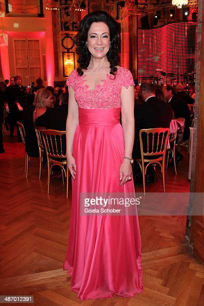 Barbara Wussow attends the 25th Romy Award 2014 at Hofburg Vienna on April 26 2014 in Vienna Austria