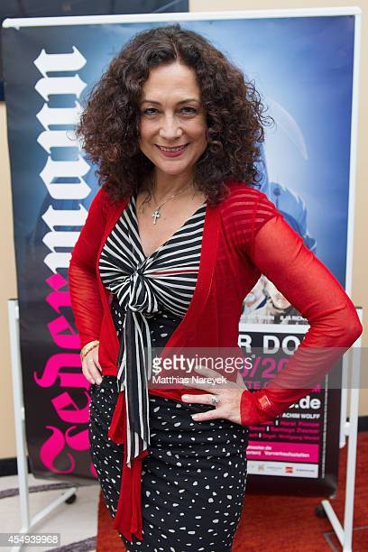 Barbara Wussow attends the 'Jedermann' press conference and photocall at Grand Hotel Esplanade on September 8, 2014 in Berlin, Germany.