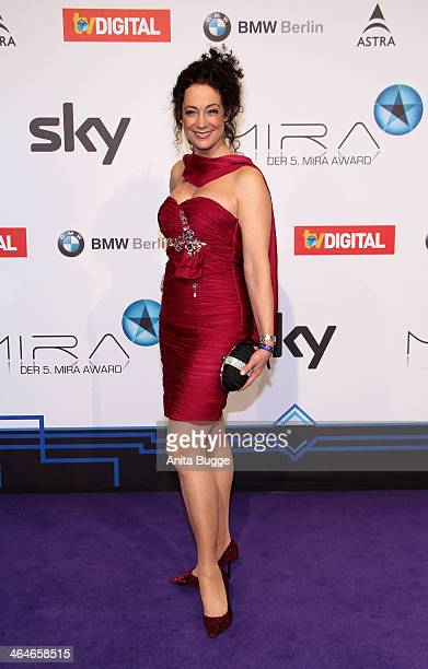 Barbara Wussow attends the Mira Award 2014 at Station on January 23 2014 in Berlin Germany