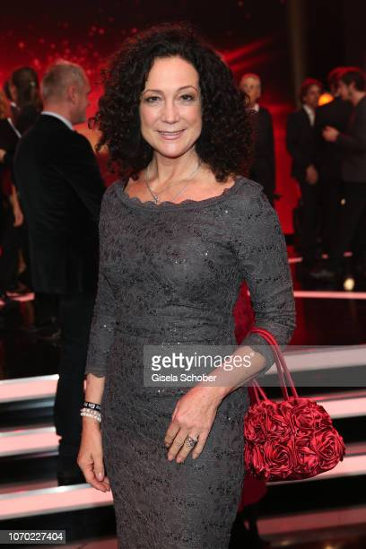 Barbara Wussow during the Ein Herz Fuer Kinder Gala at Studio Berlin Adlershof on December 8, 2018 in Berlin, Germany.