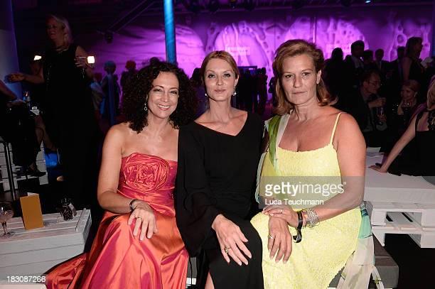 Barbara Wussow Esther Schweins and Suzanne von Borsody attend the Deutscher Fernsehpreis 2013 After Show Party at the Coloneum on October 2 2013 in...