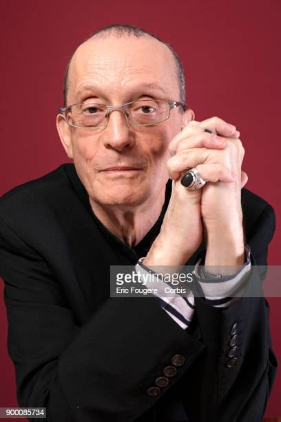 Barbara's nephew Bernard Serf poses during a portrait session in Paris France on