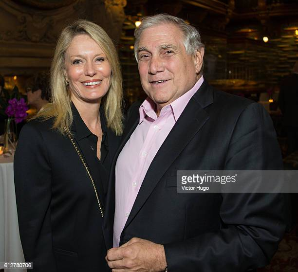 Barbaree Nielsen and Jeffrey Kanter attend Cocktail Party to Celebrate the Debut of The Mustique Charitable Foundation at Private Club on October 4...