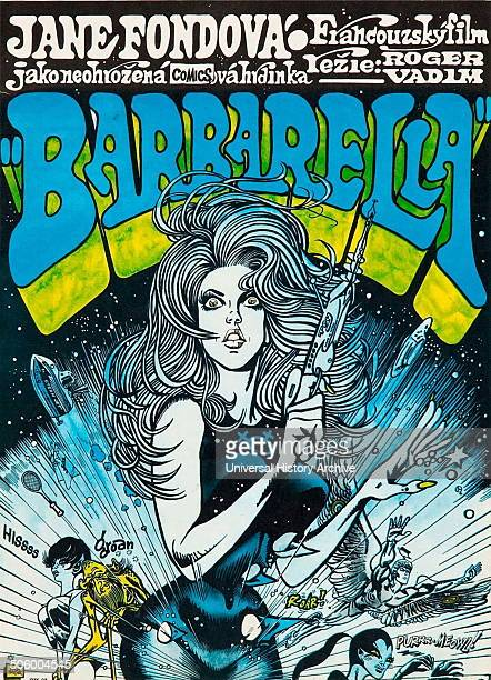 Barbarella starring Jane Fonda a 1968 FrenchItalian science fiction film