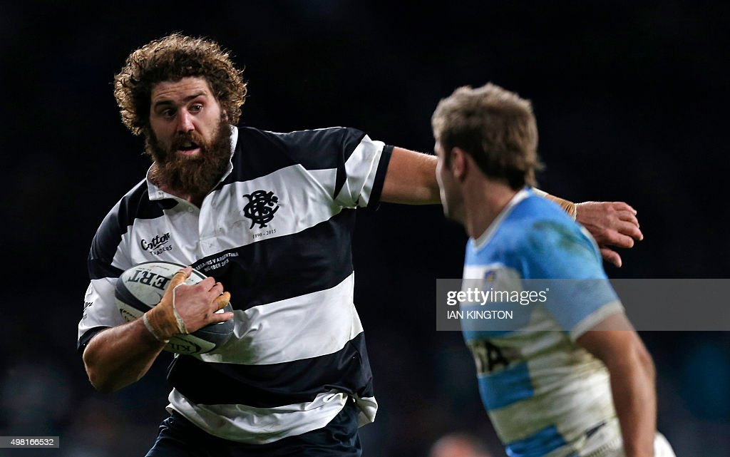 RUGBYU-ARG-BARBARIANS : News Photo