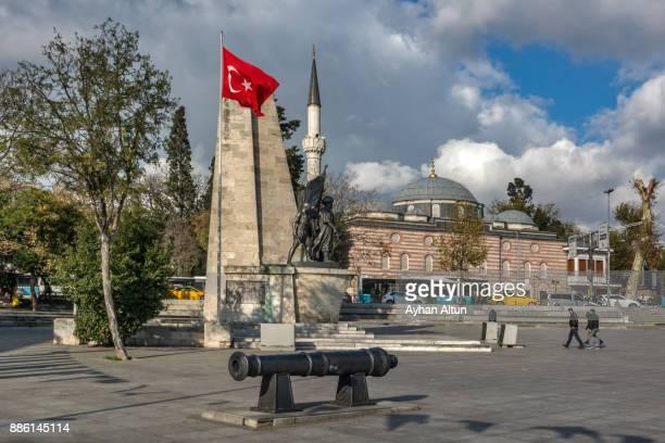 Barbaros square in Besiktas, Istanbul, Turkey