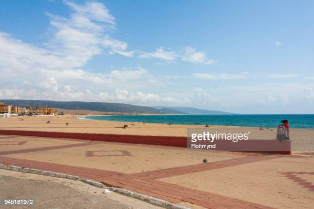 Barbate beach in Andalusia, Spain