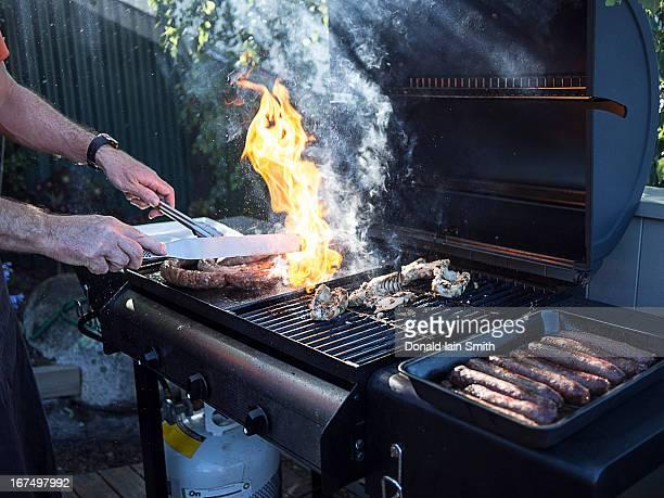 Barbecue flare