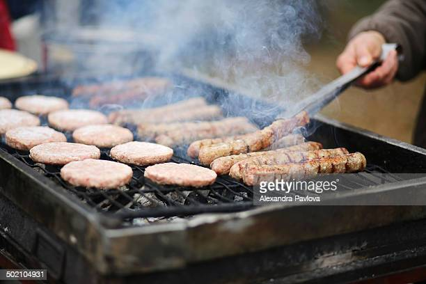 barbecue grill - alexandra pavlova stock pictures, royalty-free photos & images