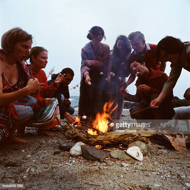 Barbecue on the beach