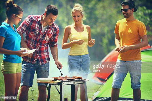 Barbecue-party.