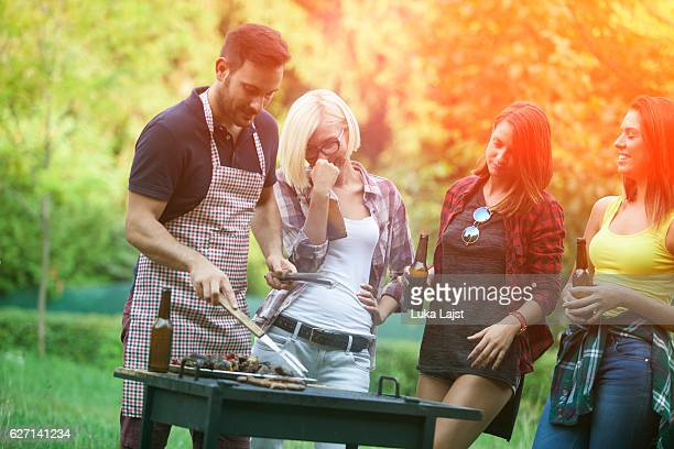 Barbecue-party