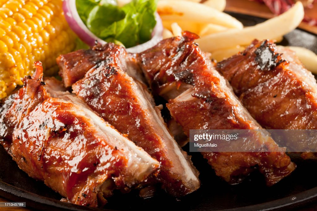 Barbecue Ribs : Stock Photo
