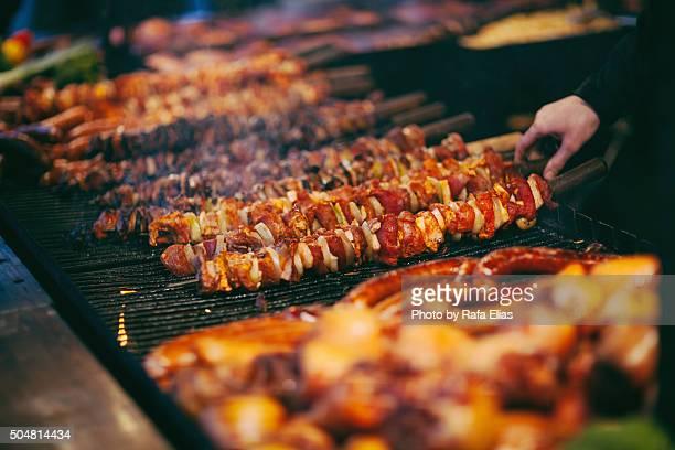 Barbecue skewer