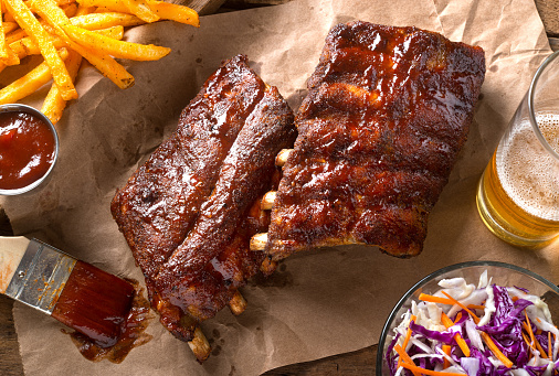 Barbecued Baby Back Ribs 873719246